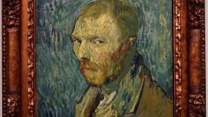 Autorretrato de Vincent Van Gogh.