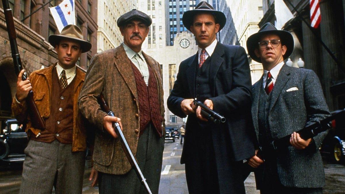 Kevin Costner i Sean Connery seran 'Els intocables d'Eliot Ness' a La 1 de TVE