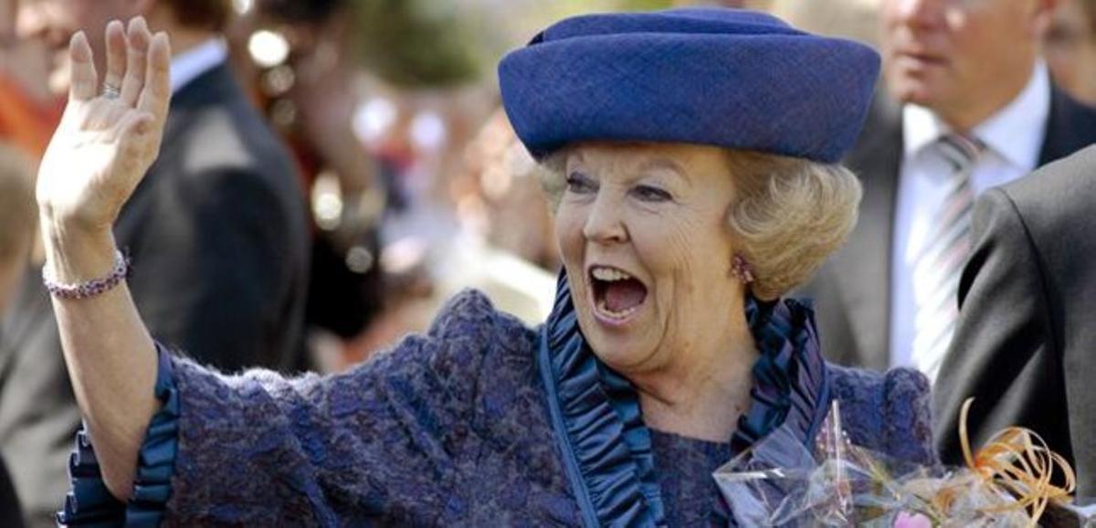 La reina Beatriz, en una imagen de abril del 2012.