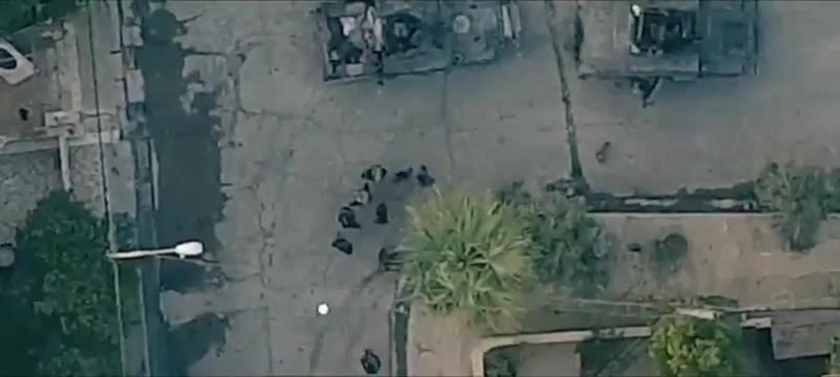 Una grabación muestra el ataque desde un drone del Estado Islámico en Mosul.