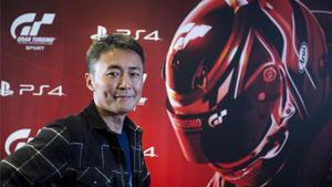 Kazunori Yamauchi, creador de Gran Turismo, en Barcelona.