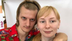 Bogdánovich y Vernígora, la pareja de ajedrecistas fallecida en Moscú.