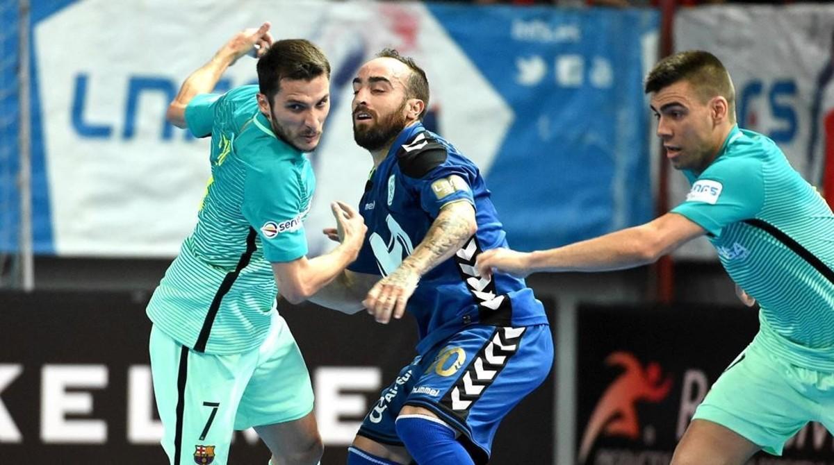 El Barça se estrella en Torrejón ante un Inter demoledor (6-1)