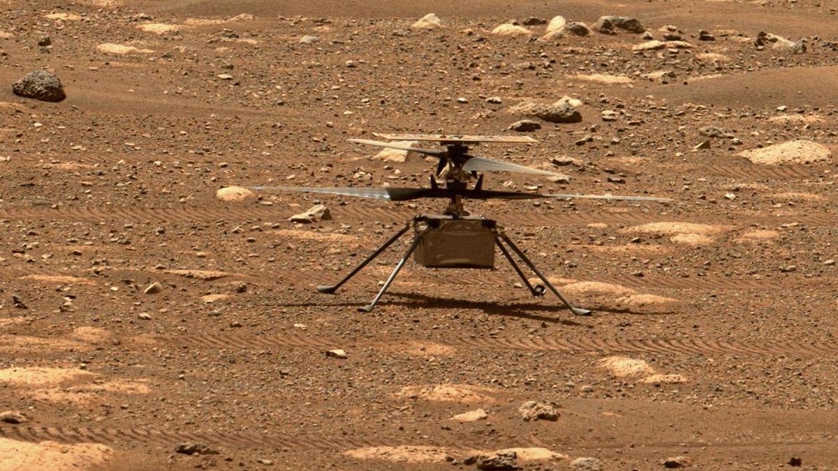 Tot preparat per al primer vol de l'helicòpter de la NASA sobre Mart