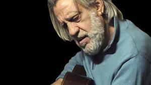 El cantante Luis Pastor.
