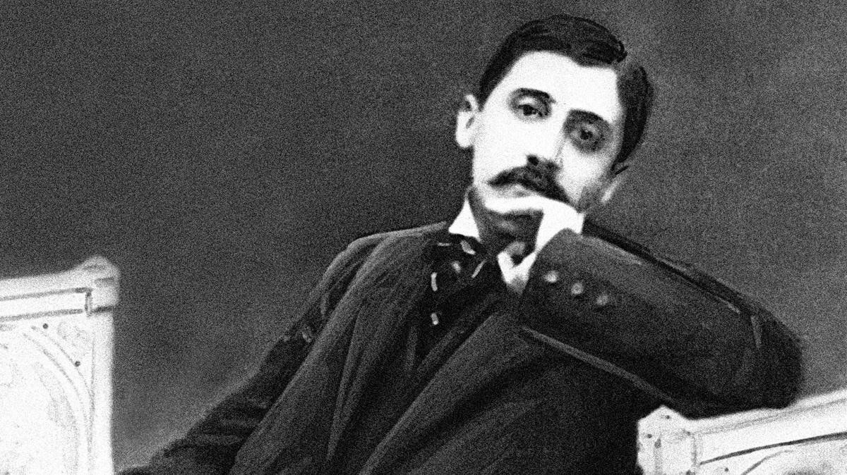 Imagen de Marcel Proust en 1896.