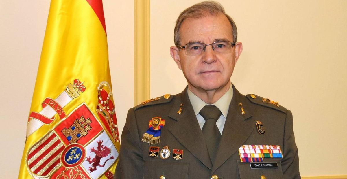 El general Miguel Ángel Ballesteros director general de Seguridad Nacional