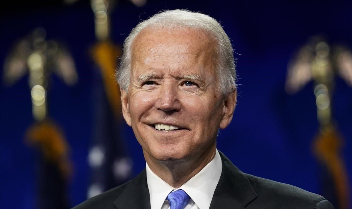 El candidato demócrata a la presidencia de EEUU, Joe Biden.