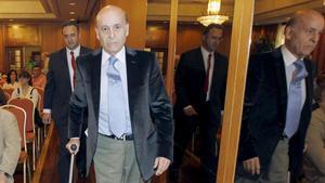 El expresidente de Cantabria Juan Hormaechea, en una imagen del 2011.