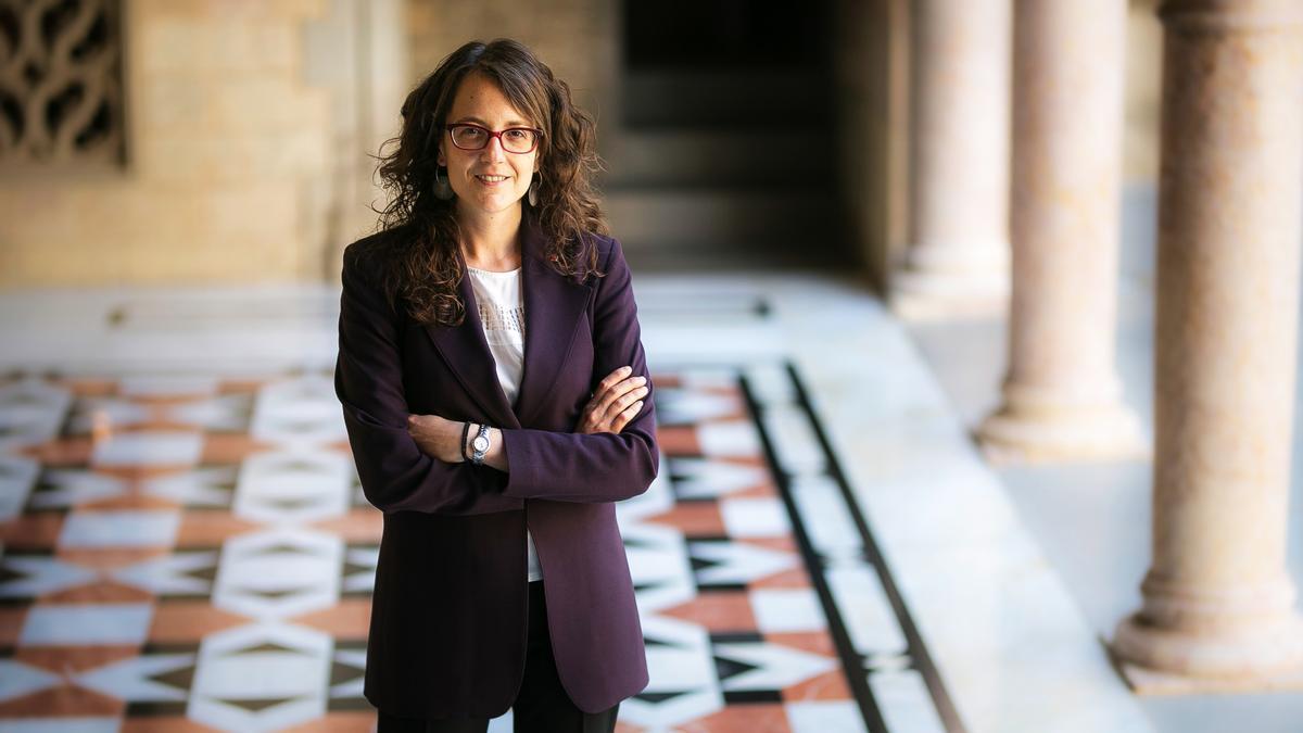 Tània Verge, 'consellera' de Feminismes i Igualtat de la Generalitat