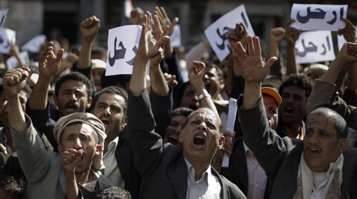 Les protestes se succeeixen al Iemen per reclamar la renúncia d'Ali Abdul·là Salih, al poder des de fa més de tres dècades.