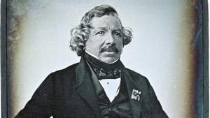 Retrato de Louis Daguerre.