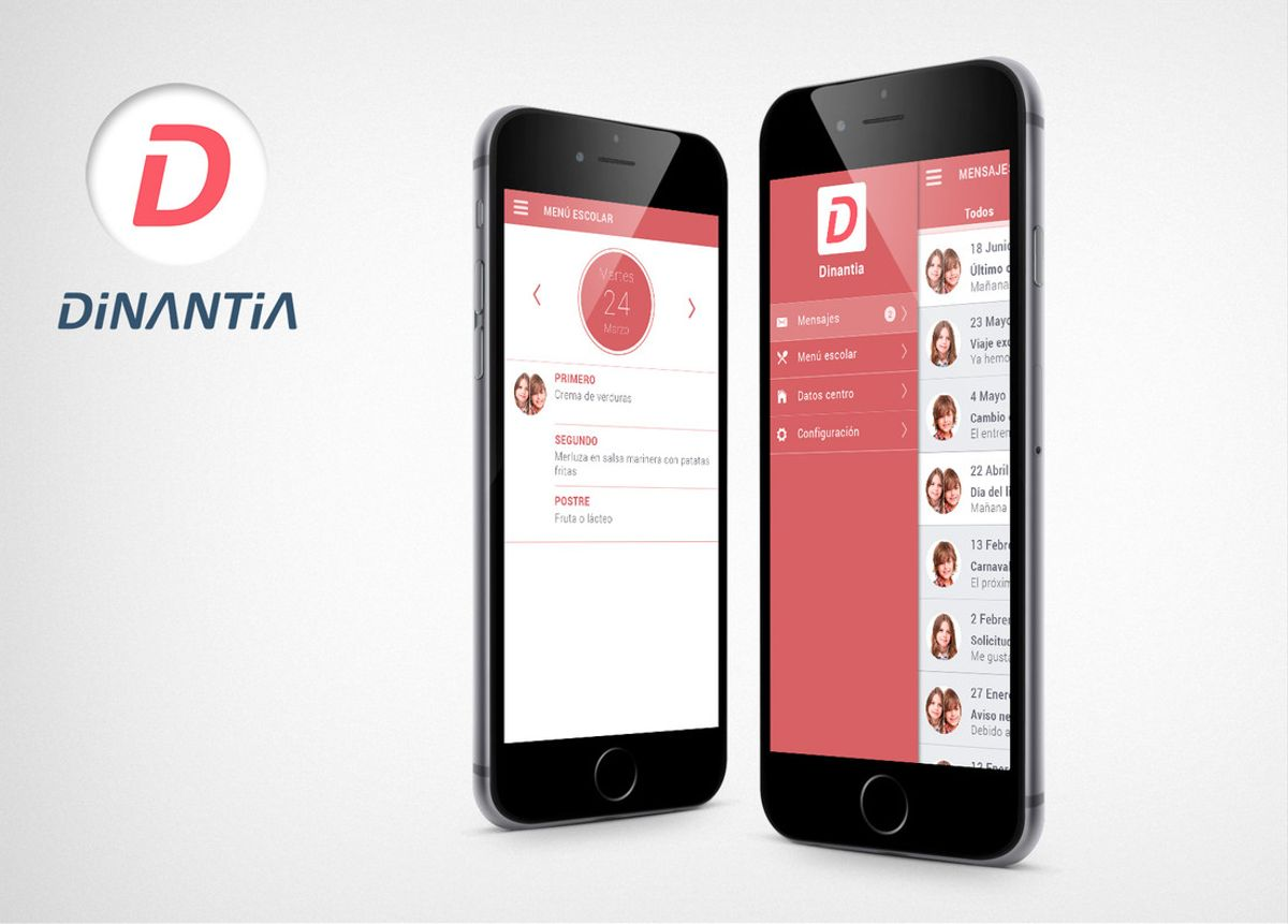 Dinantia quiere ser la alternativa a los grupos escolares de Whatsapp.