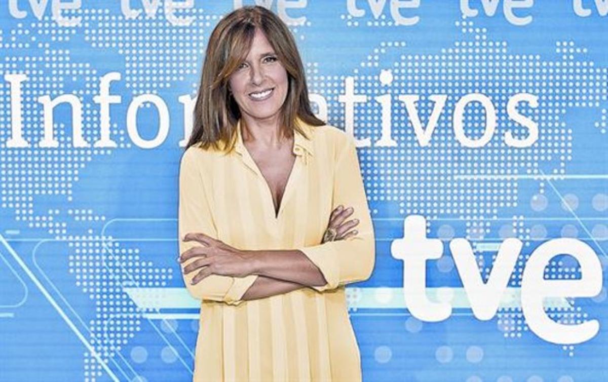 La periodista Ana Blanco, presentadora de los 'Telediarios' de TVE desde 1991.