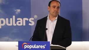 El secretario general del PPC, Daniel Serrano.