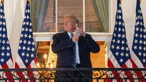 Trump vuelve a la Casa Blanca.