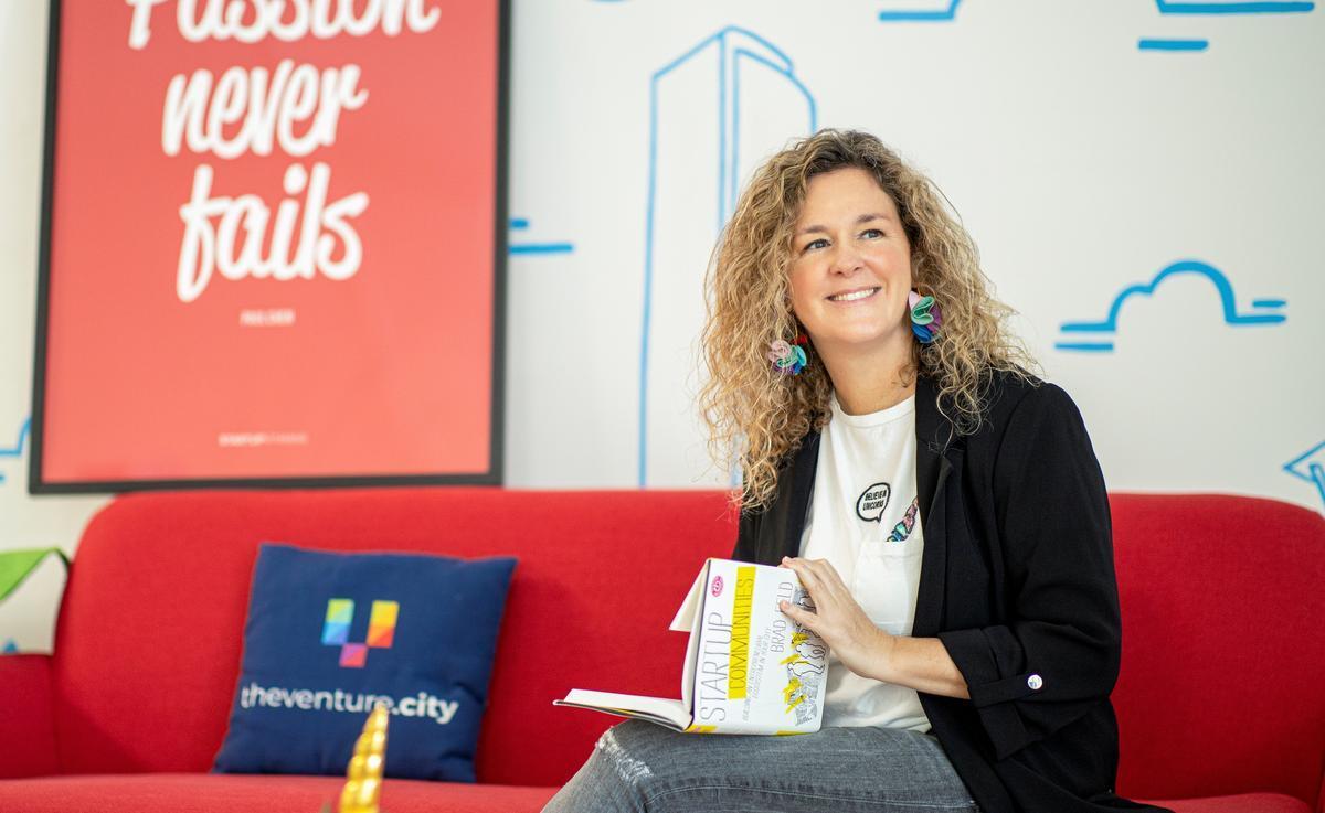 Laura González-Estéfani, cofundadora y CEO de TheVentureCity.