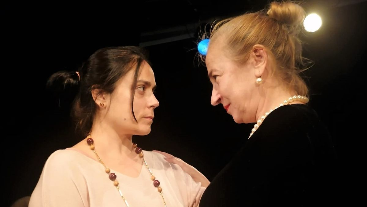 Charo Martínez Blanco (izquierda) e Izaskún Martínez protagonizan este duelo femenino.