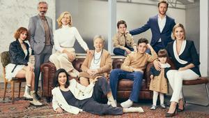 Foto promocional de la familia Alcántara en la temporada 21
