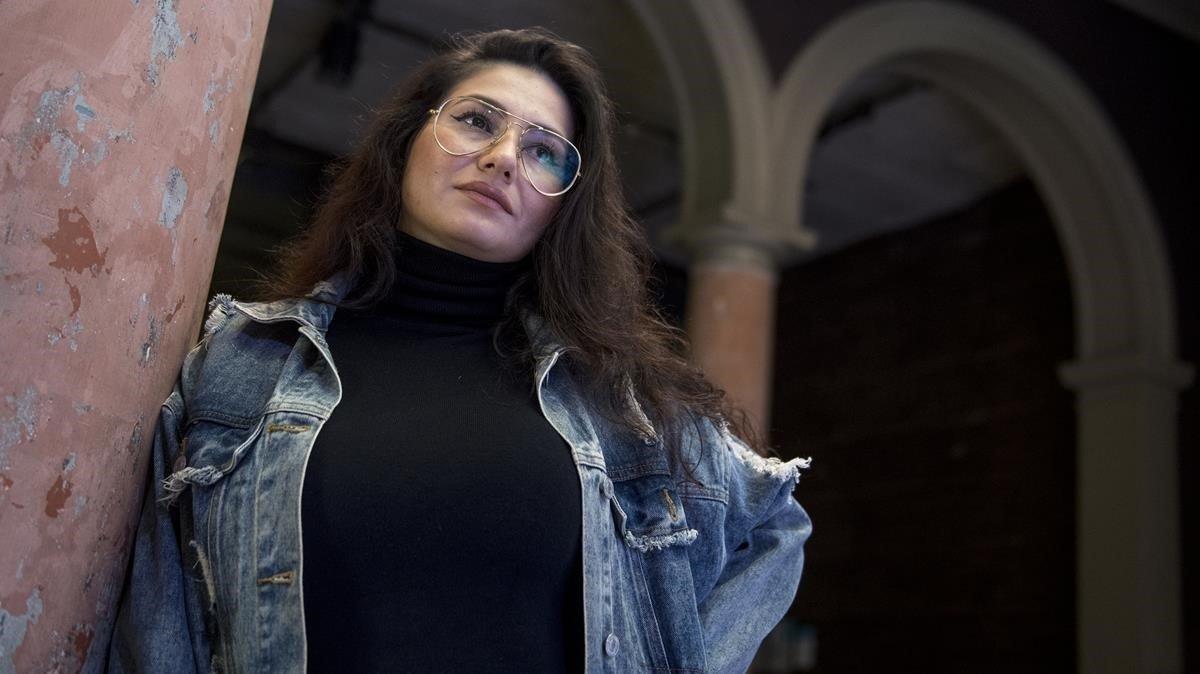 La bailaora Karime Amaya.