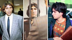 El 'Vaquilla', el 'Torete' y el Andrés Rabadán, tres delicuentes que han estado encarcelados en la Modelo.