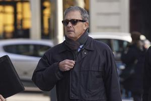 Jordi Pujol Ferrusola, el pasado febrero, a su llegada a la Audiencia Nacional.
