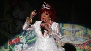 Carmen de Mairena en una presentación en el Coliseum, en el 2008.