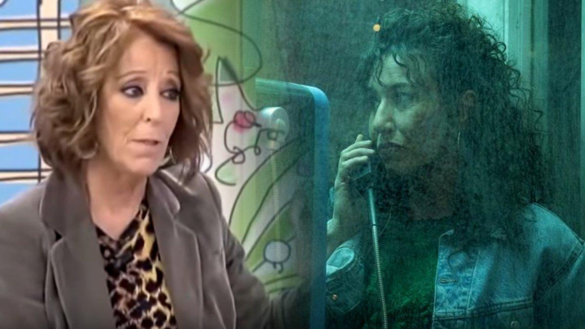 Faela Sainz (izquierda) y Lola Dueñas (derecha), actriz que le da vida en 'Veneno'.