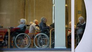 Barcelona 24 11 2020 Sociedad Residencia geriatrica en la Pca  Font Castellana  en el Guinardo  FOTO DE RICARD CUGAT