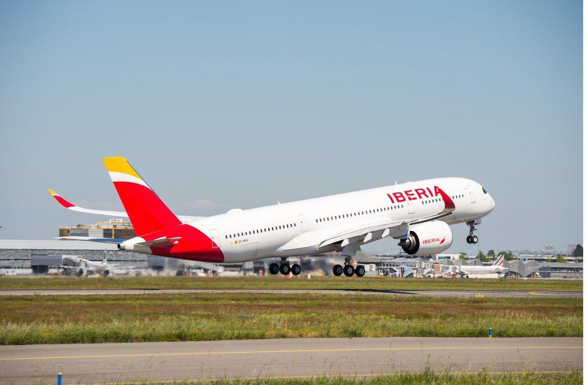 Iberia cancel·la 104 vols a Espanya per la vaga de 'handling'
