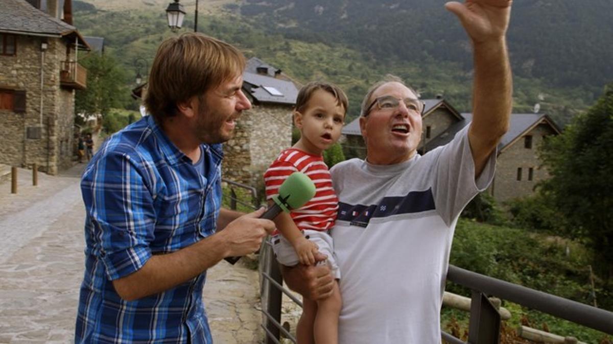 Quim Masferrer, en la Vall de Boí en 'El foraster'.