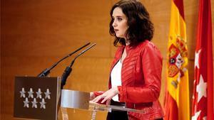 Isabel Díaz Ayuso afirma que nadie ha muerto por la contaminación en Madrid.