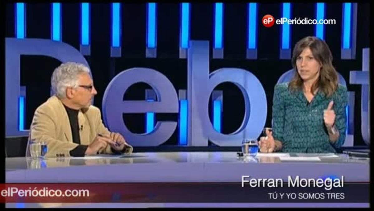 El juez Santiago Vidal, en 'El debat de la 1' (TVE).