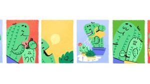 El 'doodle' del día del padre.