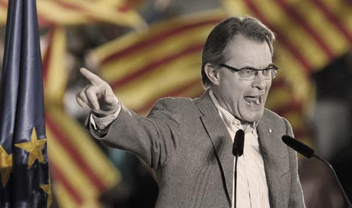 Vídeo de un acto electoral de CiU visto a partir de los ojos del candidato de Girona, el alcalde de Figueres Santi Vila.