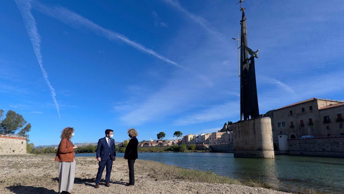 La retirada del monument franquista de Tortosa començarà aquest estiu