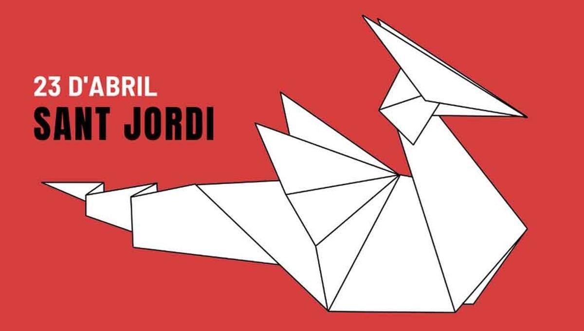Imagen promocional del Sant Jordi 2021 de Gavà