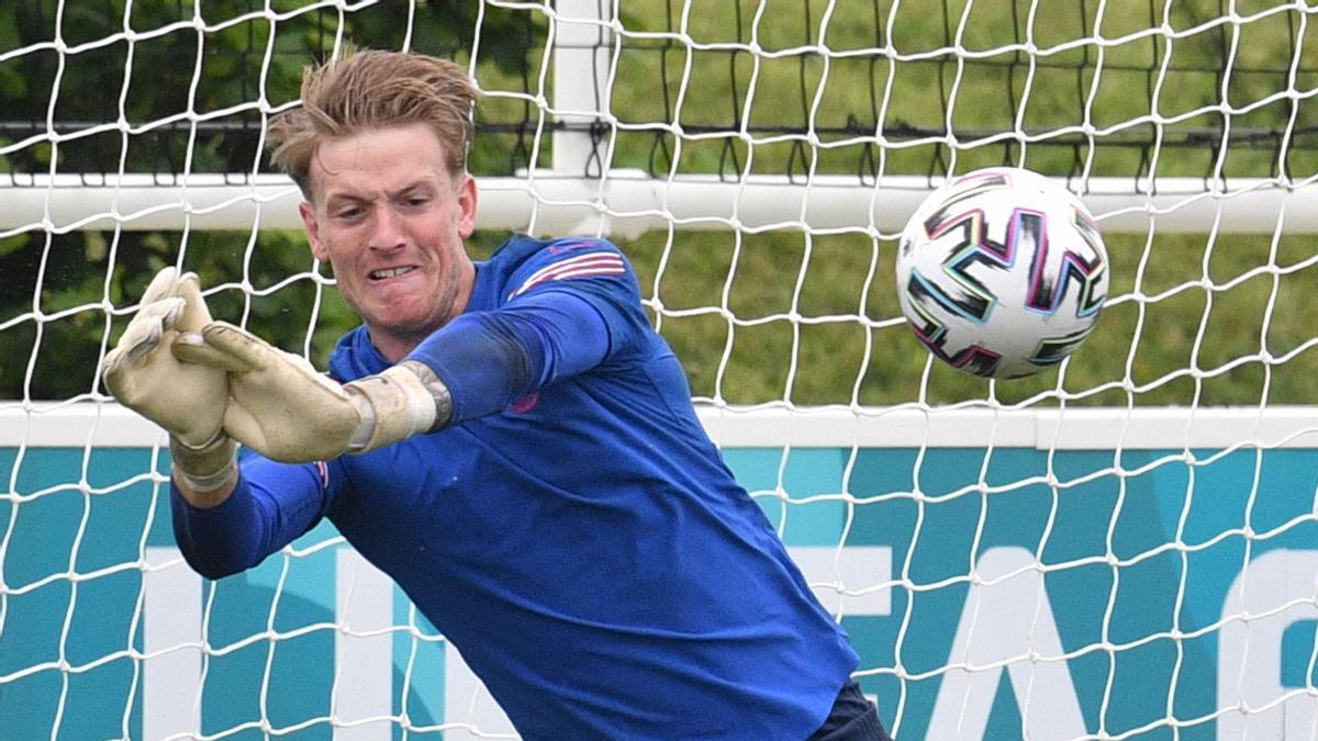 Eurocopa 2021: Pickford exorcitza els fantasmes de la porteria anglesa