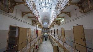 Una galería de la Modelo, que ha sido el recinto más visitado este fin de semana en el 48 H Open House.