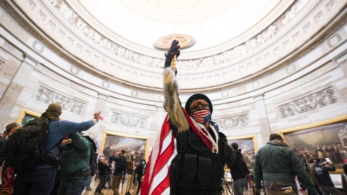 Líderes de todo el mundo condenan el intento de tomar el Capitolio