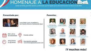 Prensa Ibérica se suma al homenaje a la educación de Gestionando hijos