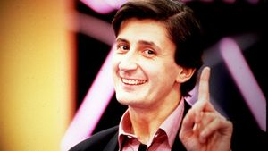 Foto promocional de Pepe Carrol en su etapa de presentador.