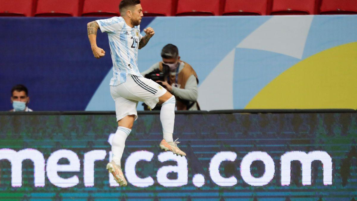 L'Argentina va derrotar 1-0 el Paraguai i va passar als quarts de final de la Copa Amèrica