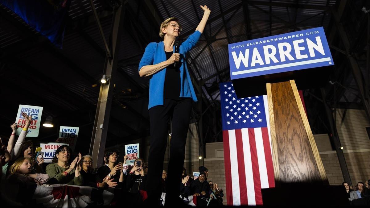 Elizabeth Warren abandona la carrera demòcrata