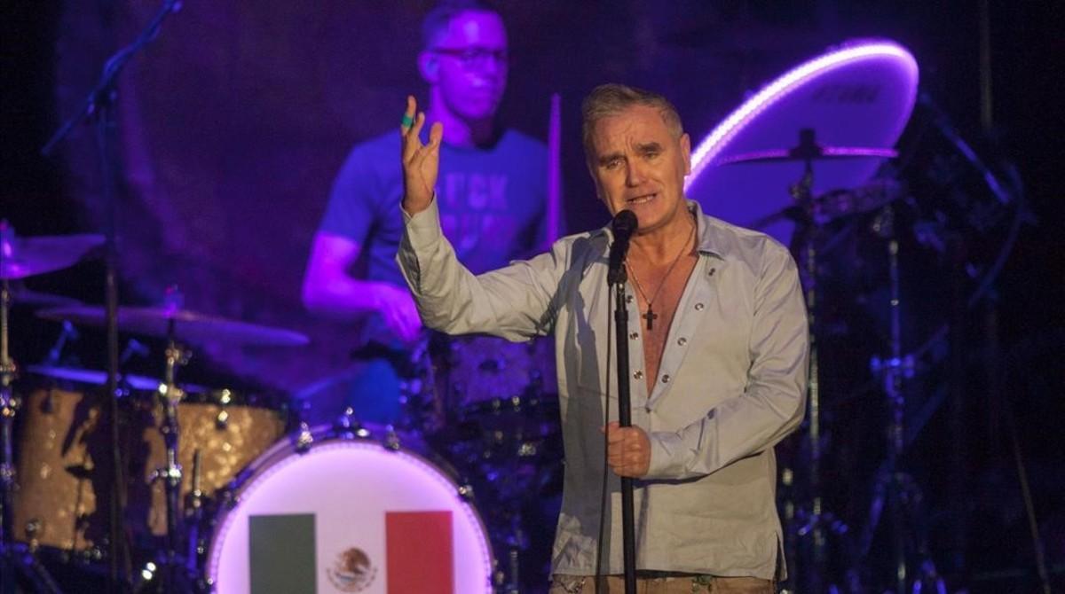 Actuación de Morrissey en Monterrey.