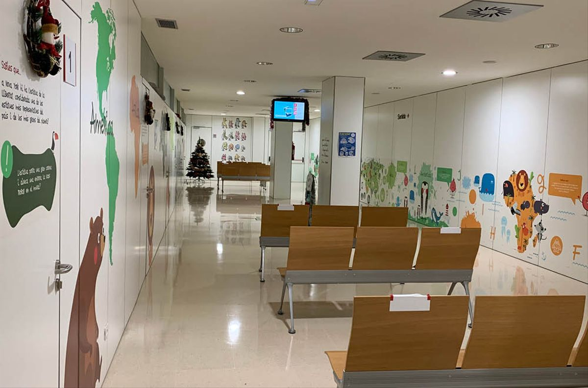 El Hospital de Sant Boi finaliza la segunda fase de la transformación de los espacios infantiles