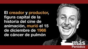 Vídeo promoción contenido Más Periódico: 50 años sin Walt Disney