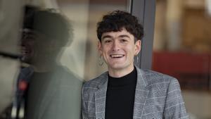 El escritor tarraconense Pol Guasch, ganador del premio Llibres Anagrama.