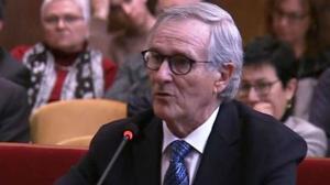 Xavier Trias, exalcalde de Barcelona, en el juicio.