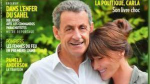 Sarkozy y Carla Bruni en la portada de 'Paris Match'